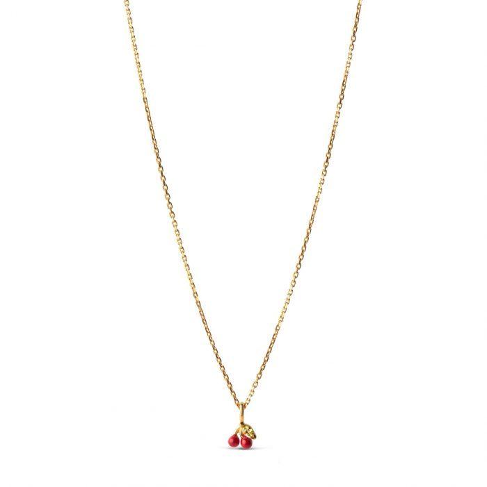 Cherry Halskette Red