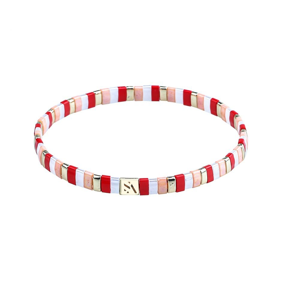 Palma Armband Raspberry