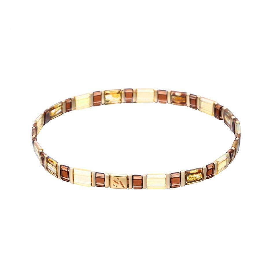 Palma Armband Golden Brown