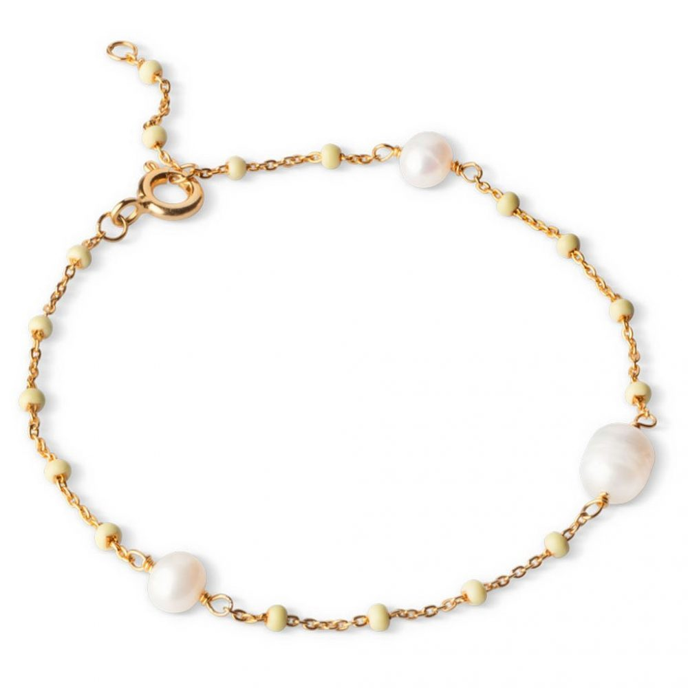 Lola Perlita Armband Lemone/Pearl