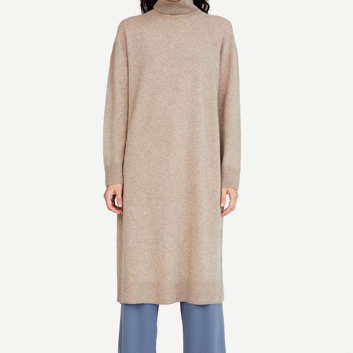 Amaris Kleid Warm Grey