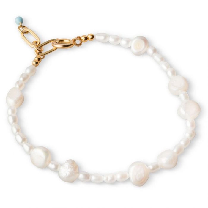 Pearlie Armband Gold