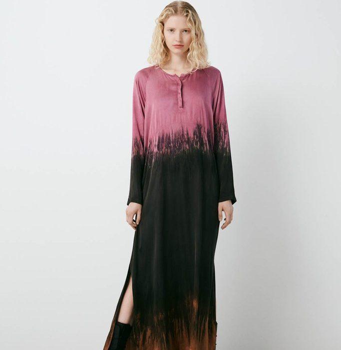 Helma Kleid Purple/Brown